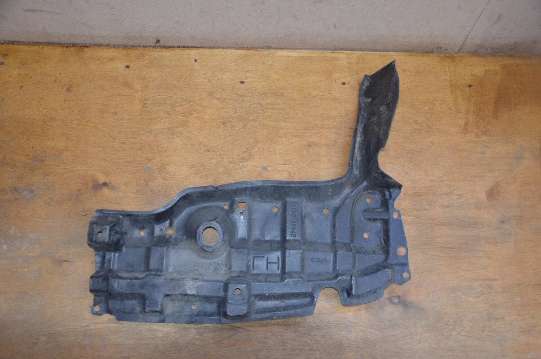 Пыльник двигателя левый Toyota Yaris Vits