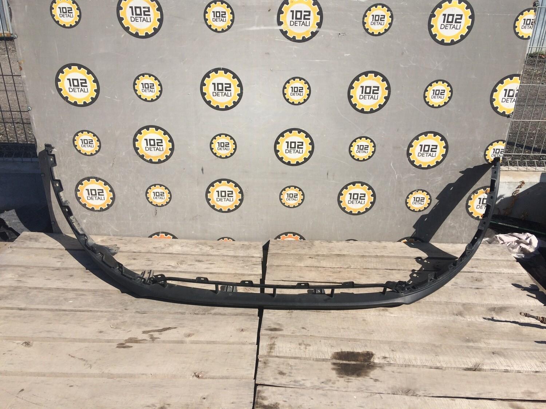 Юбка переднего бампера Kia Sportage 3 Парктроник