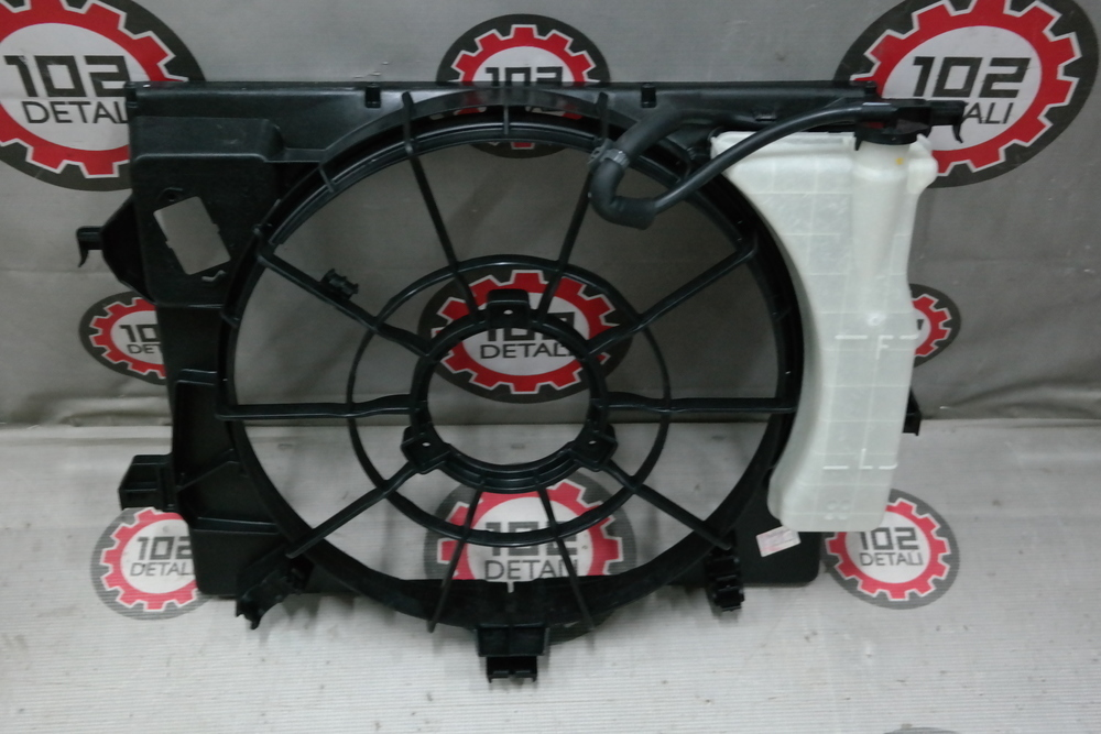 Диффузор радиатора Kia/Hyundai
