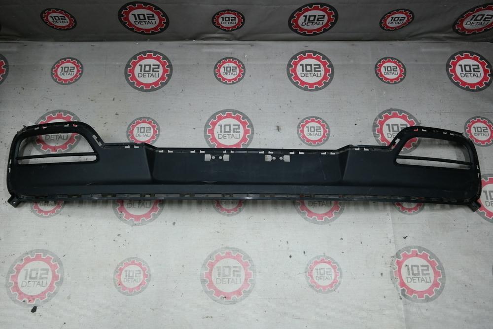 Накладка бампера заднего Kia Ceed coupe 2011