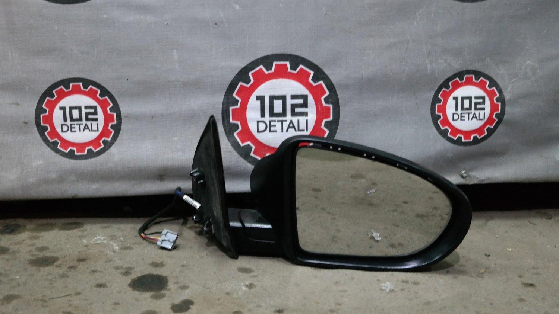 Nissan Qashqai (J10) зеркало правое 5 контактов