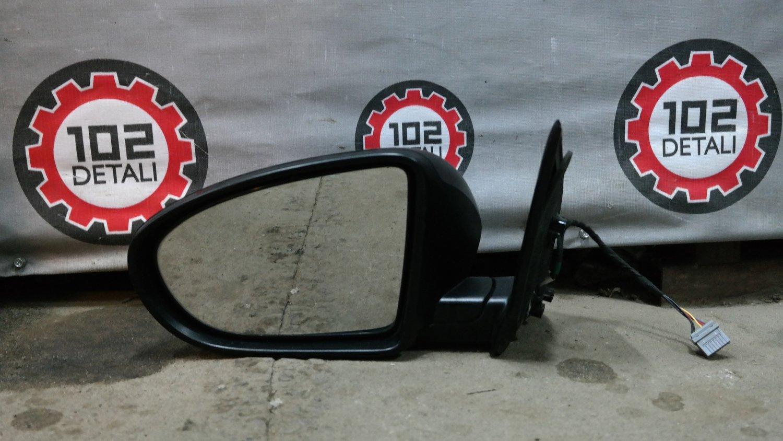 Nissan Qashqai (J10) зеркало левое 5 контактов