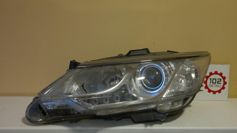 Фара левая Toyota Camry V55 LED Дхо с 2014