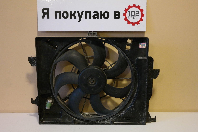 Вентилятор Hyundai Solaris