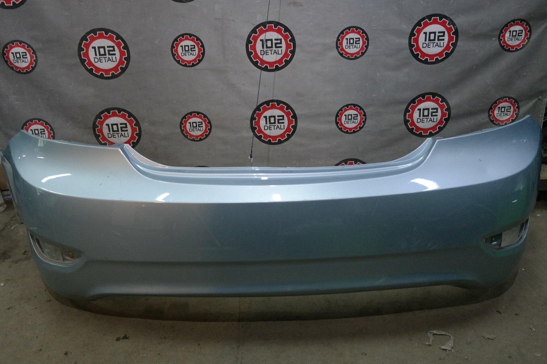 Бампер задний Hyundai Solaris (2011-2014)