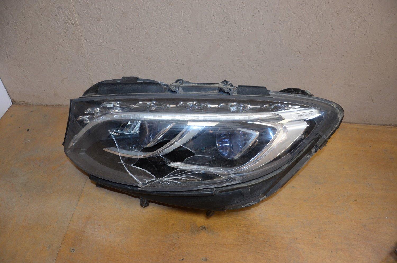 Фара левая Mercedes S W217 Coupe LED