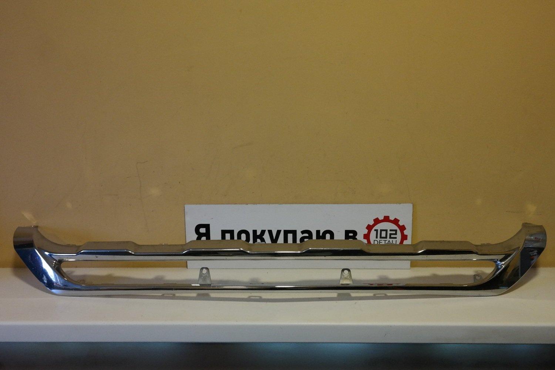 Накладка переднего бампера Mercedes GLK X204