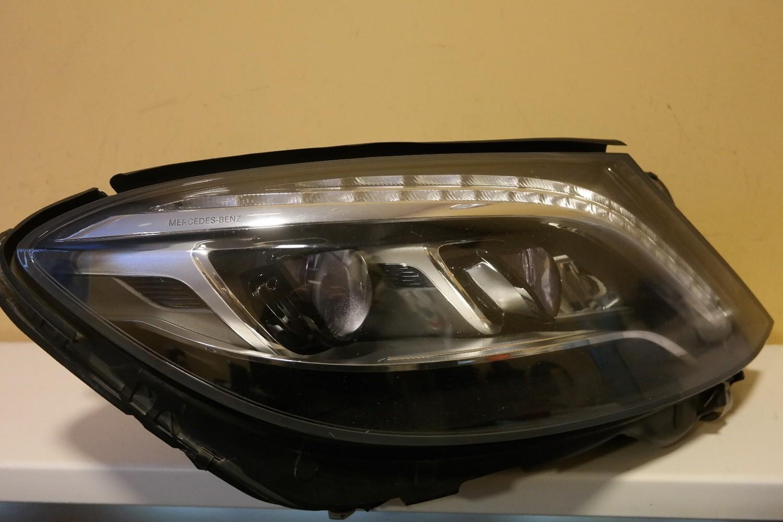 Фара правая Mercedes Benz S-Class W222 LED