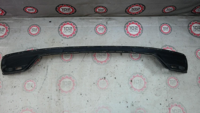 накладка заднего бампера  Kia Ceed с 2012г