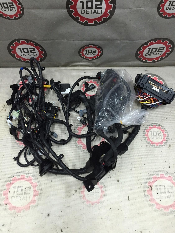 Комплект жгутов проводов моторного отсека в сборе Hyundai Solaris