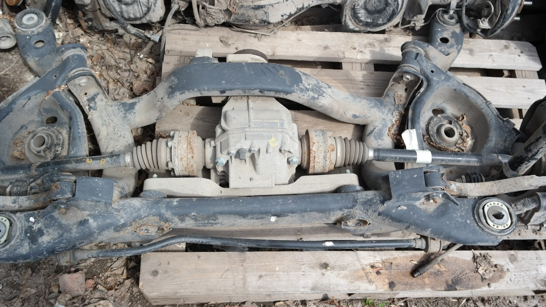 Балка задняя Audi A6 [C7,4G] (2011--)