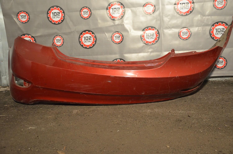 Бампер задний Hyundai Solaris (дорест 10-14)