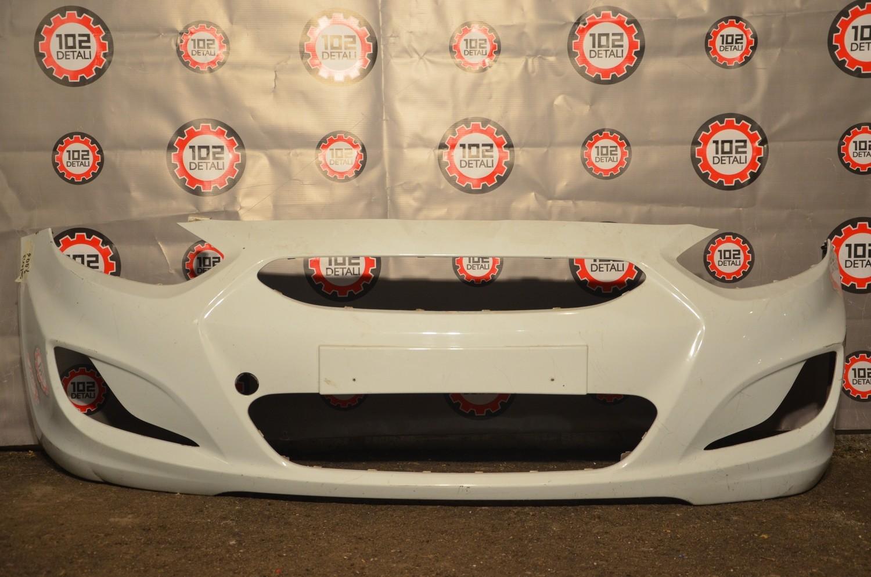 Бампер передний Hyundai Solaris (дорест 10-14)