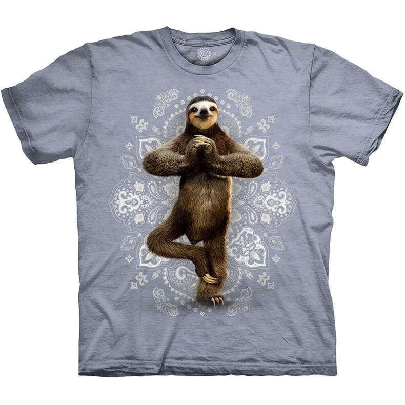 T-shirt Yoga Sloth