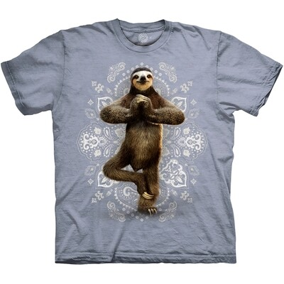 T-shirt Yoga Sloth