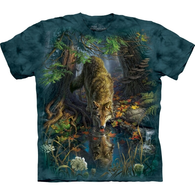 T-Shirt Enchanted Wolf