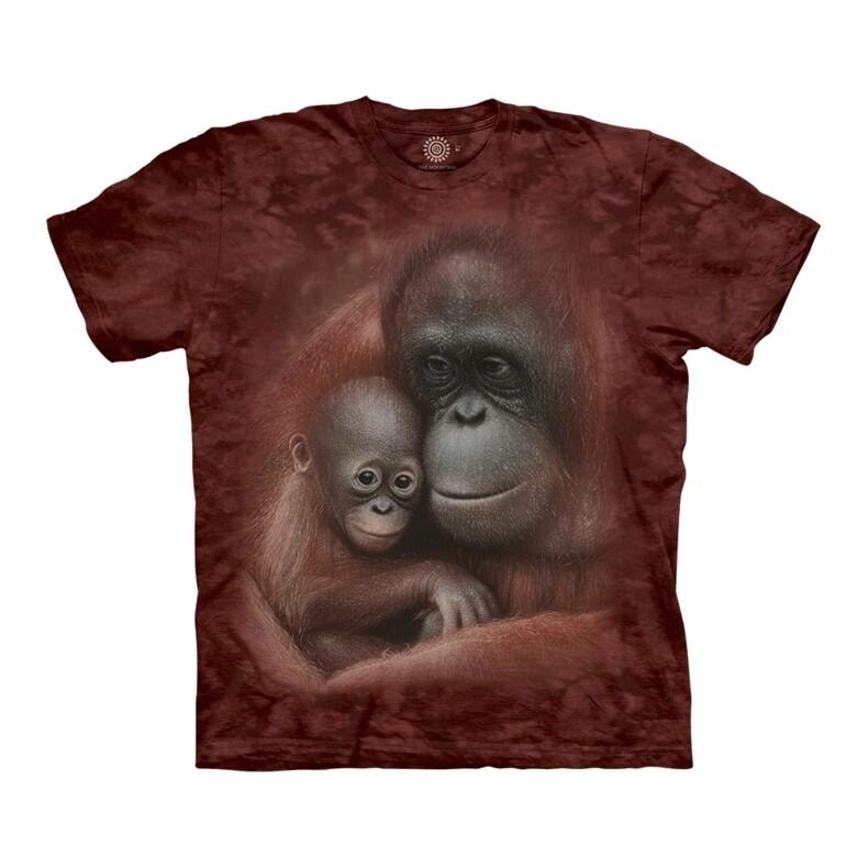 T-Shirt Snuggled Orangutan