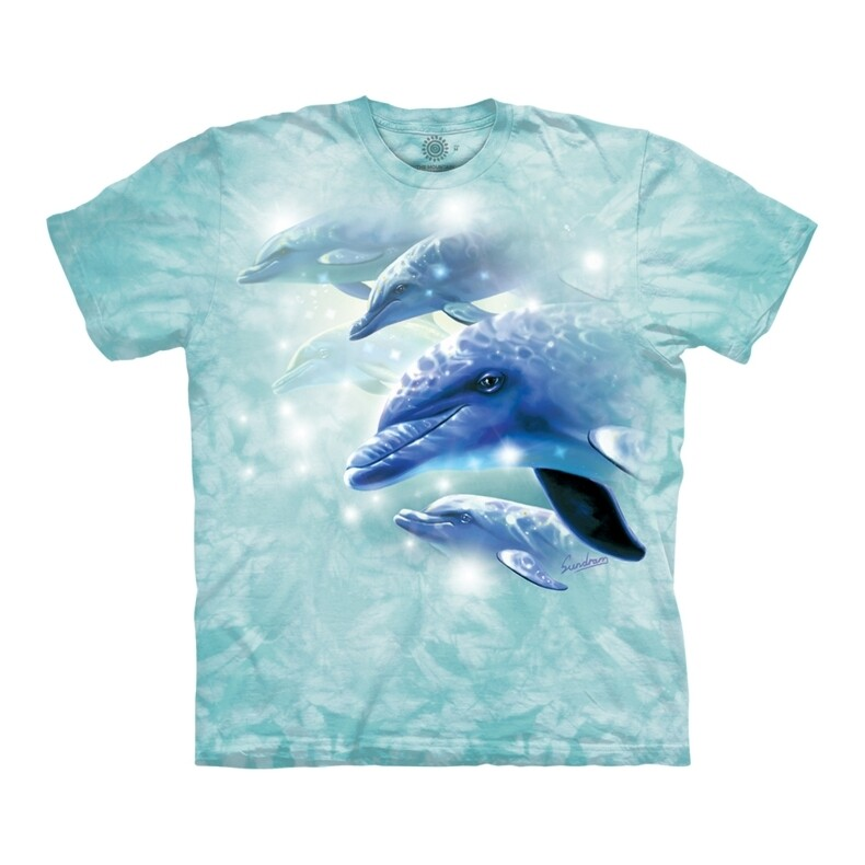 T-Shirt Dolphin Play