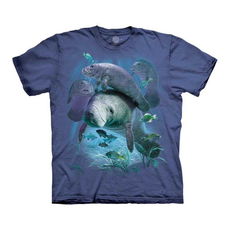 T-Shirt Manatee Pod