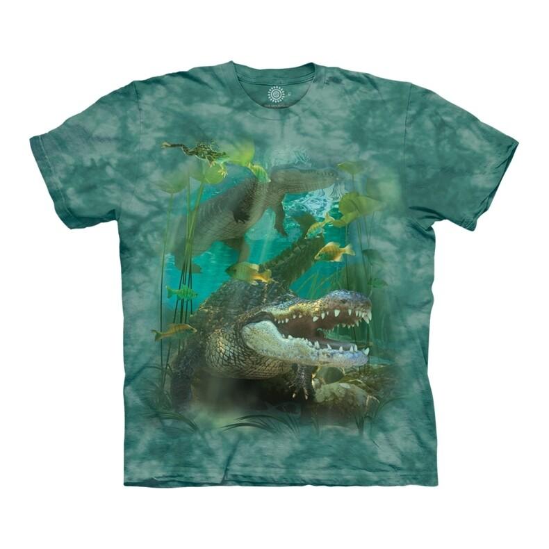 T-Shirt Alligator Swim