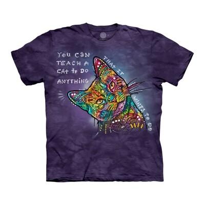 T-Shirt Russo Teach a Cat