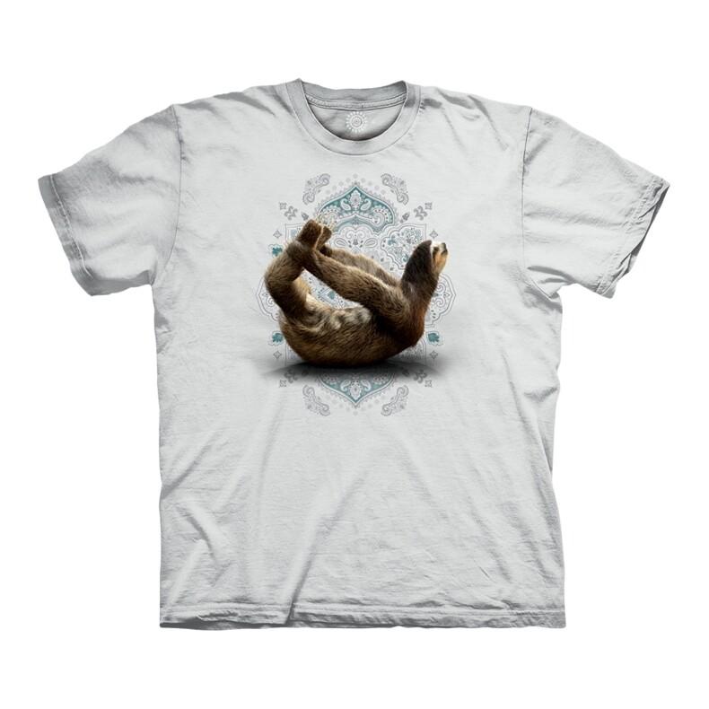 T-shirt Dhanurasana Sloth