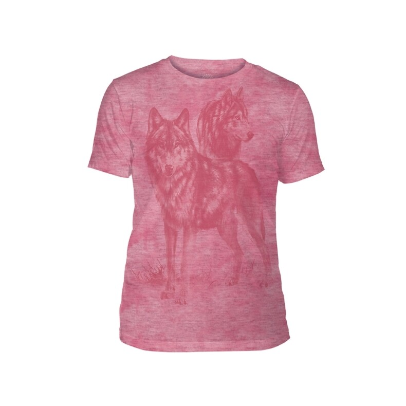 T-Shirt Monotone Wolves