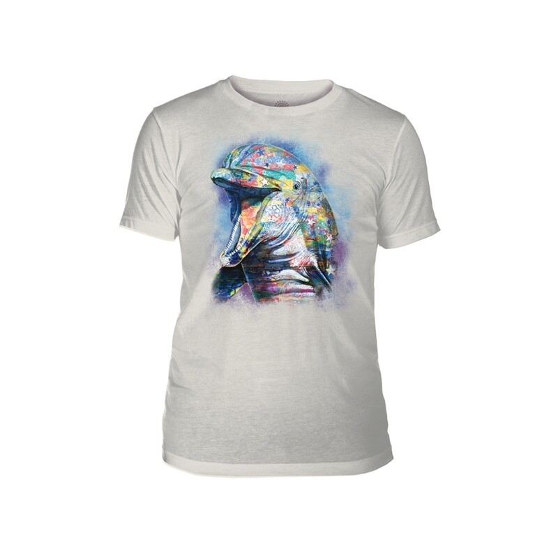 T-Shirt Painted Dolphin