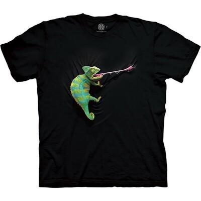 T-Shirt Climbing Chameleon
