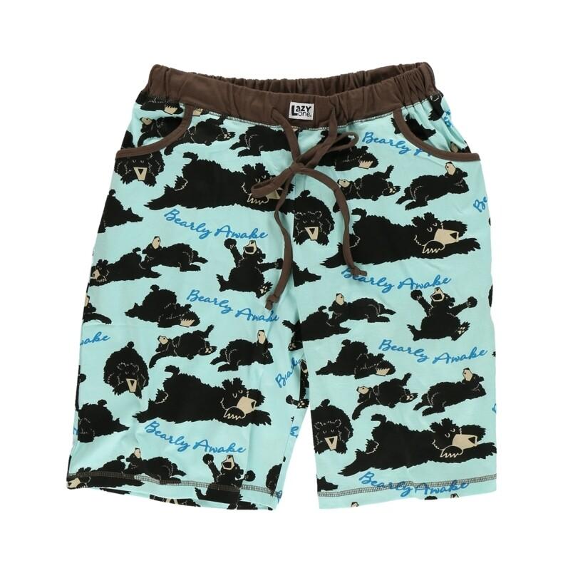 Bearly Awake Bermuda Shorts