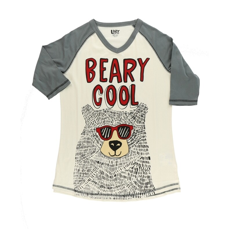 Pyjamastopp Beary Cool