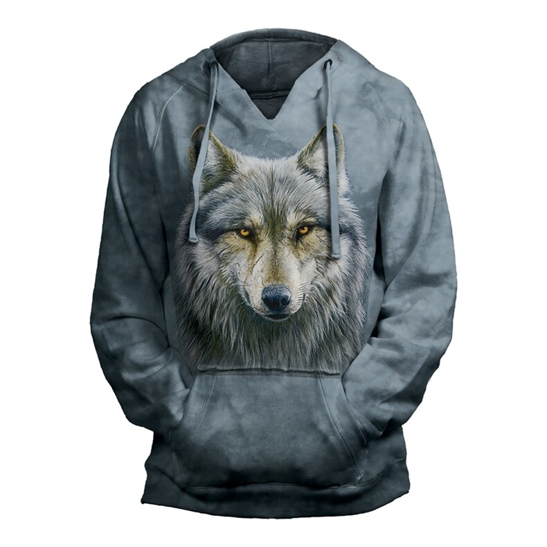 Hoodie Warrior Wolf