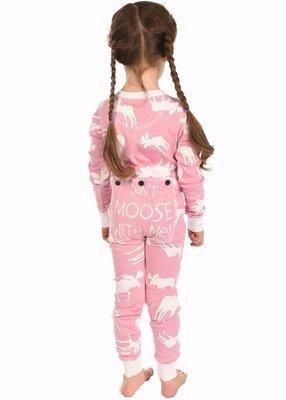 Moose Pink Kids Flapjack