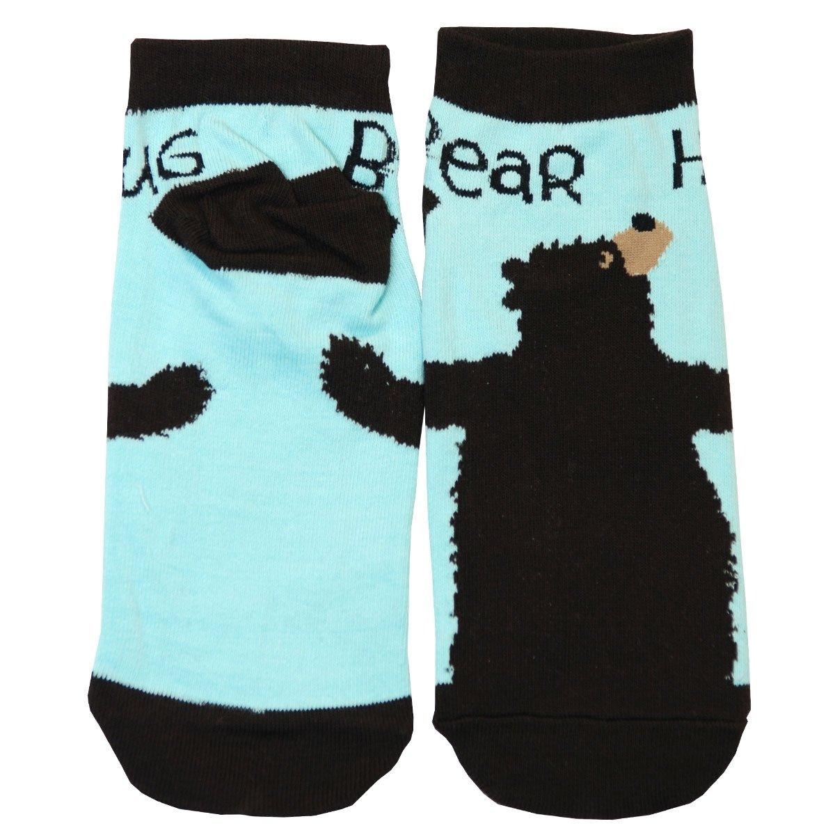 Halkstrumpor Bear Hug Blue
