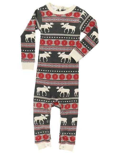 Moose Fair Isle Baby Pyjamas