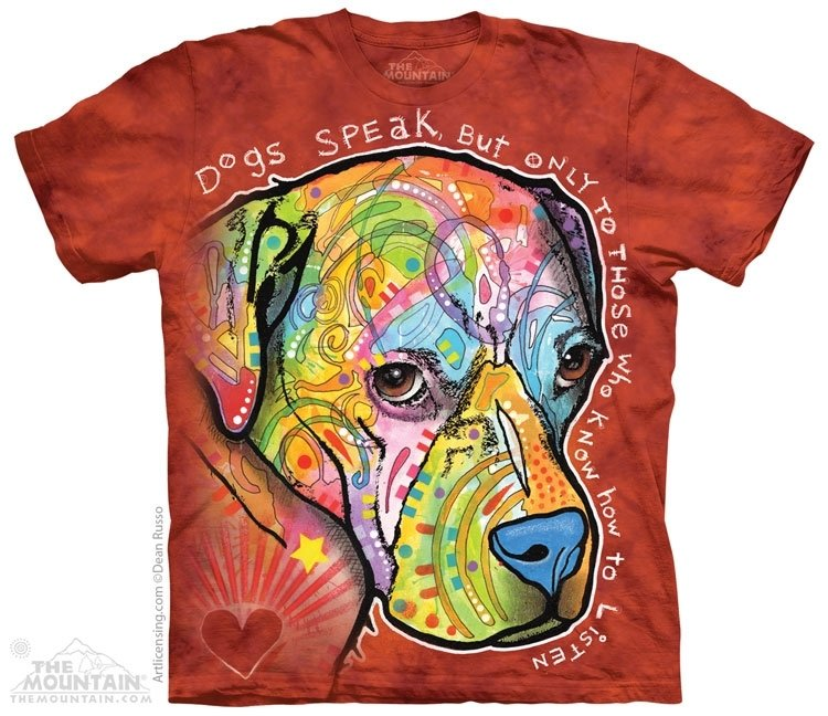 T-Shirt Dogs Speak