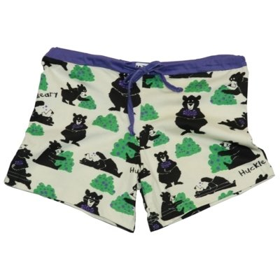Huckle-Beary Boxer Shorts