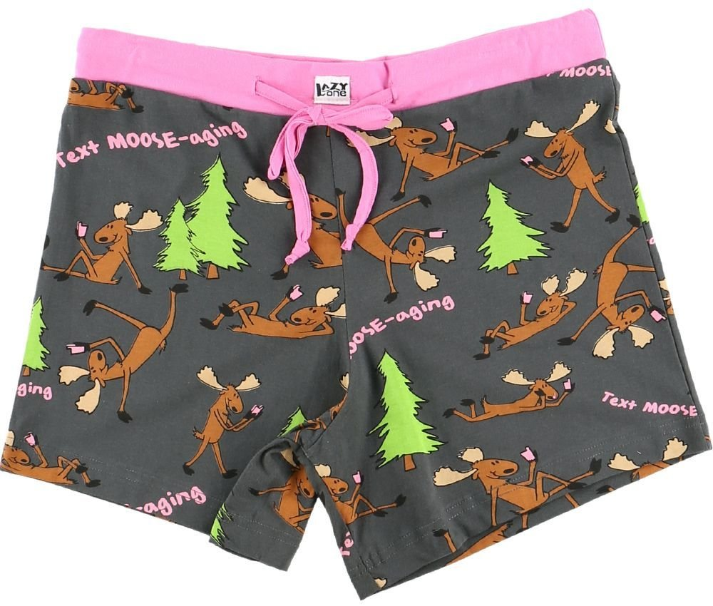 Text Moose-aging Boxer Shorts