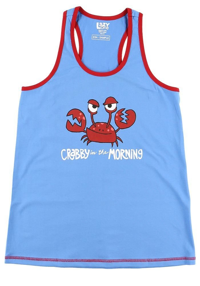 Crabby PJ Tank Top