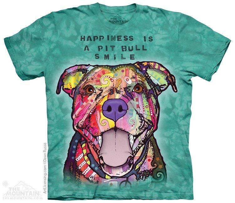 T-Shirt Pit Bull Smile