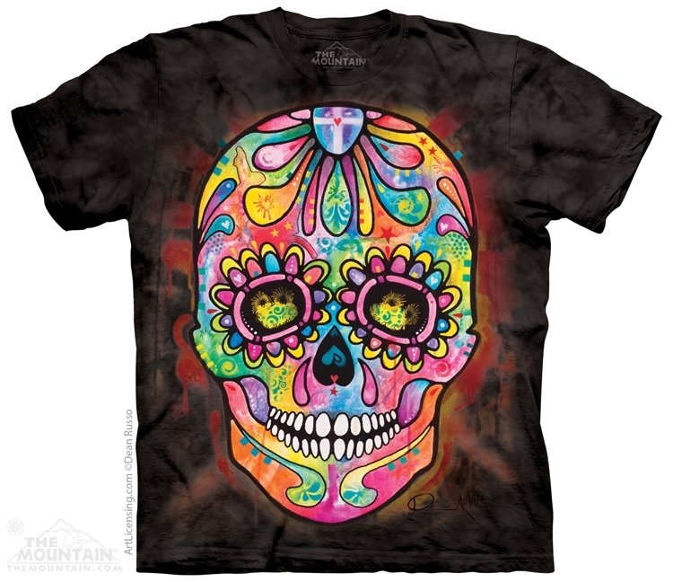 T-Shirt Russo Day Of The Dead