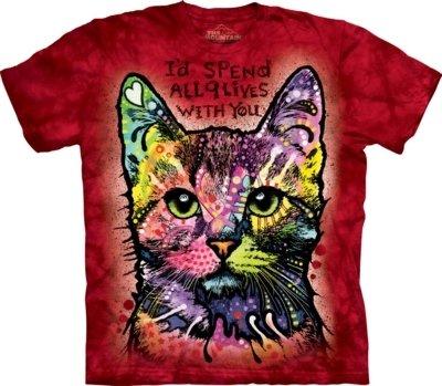 T-Shirt 9 Lives