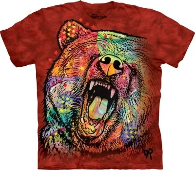 T-Shirt Russo Grizzly Bear