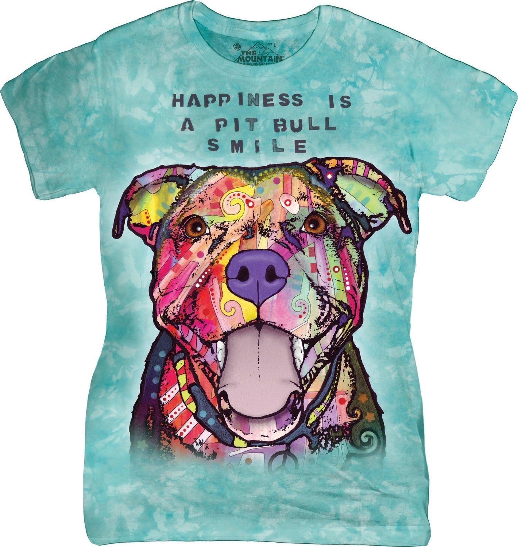 T-Shirt Pit Bull Smile Fit