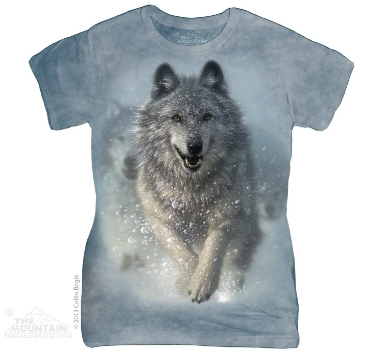 T-Shirt  Snow Plow Wolf Fit