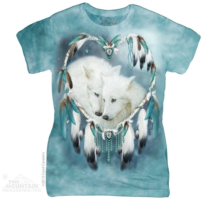 T-Shirt Wolf Heart Fit