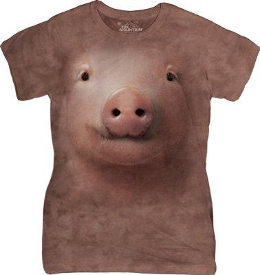 T-Shirt Pig Face Fit