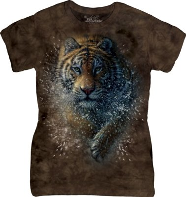 T-Shirt Tiger Splash Fit
