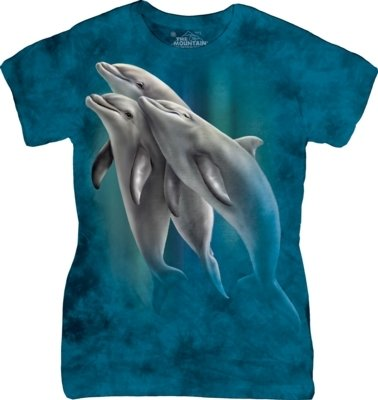 T-Shirt Three Dolphins Fit
