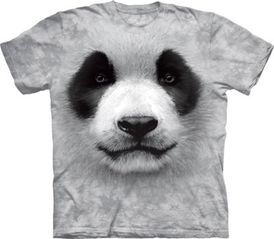 T-Shirt Big Face Panda